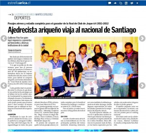 ajedrecista ariqueño viaja al nacional de santiago