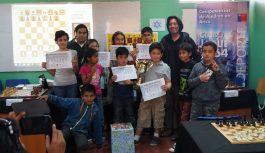 LUCAS MORALES fue el Campeón del 3º Torneo de Maestros Ajedrez Kids Arica 2015