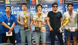 NICOLAS ABARCA Gonzalez de Rengo ganó la Copa Aniversario Club Jaque 64 2016