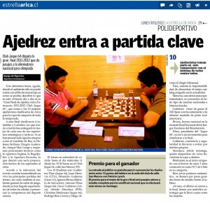 ajedrez entra en partida clave