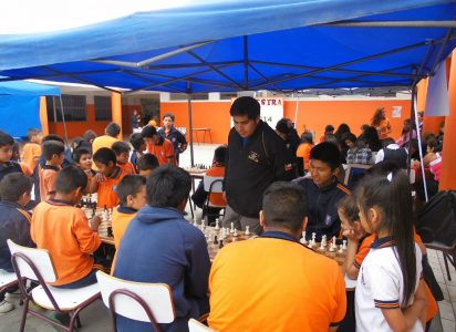 Club Jaque 64 en el Colegio Don bosco