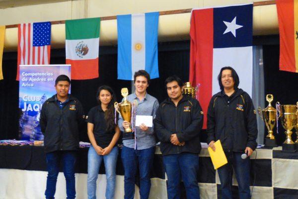 2º lugar Gran Maestro Internacional Alan Pichot (Argentina)