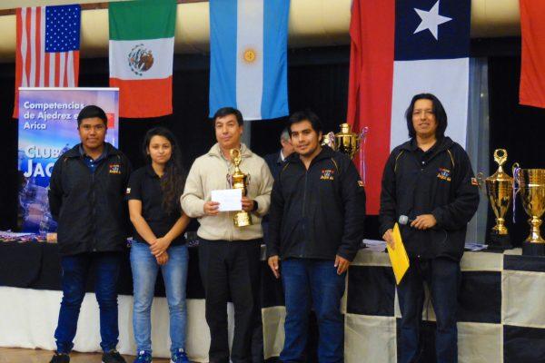 3º lugar Gran Maestro Internacional Gilberto Hernandez Guerrero  (Mexico)