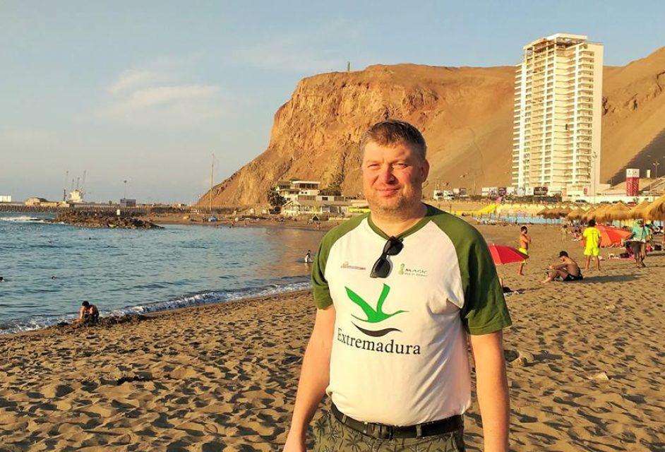20 Shirov en Playa el Laucho de Arica