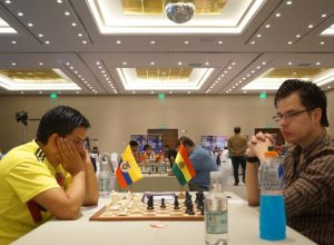 55 Fonseca (Colombia) vs IM Gemy (Bolivia)