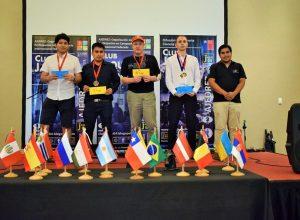 Premiación cat. gral 1° a 18° lugares