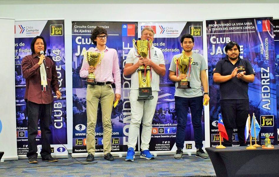 GM Shirov Campeon Arica 2019