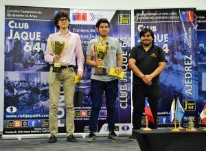 Premiacion 2° y 3° lugar